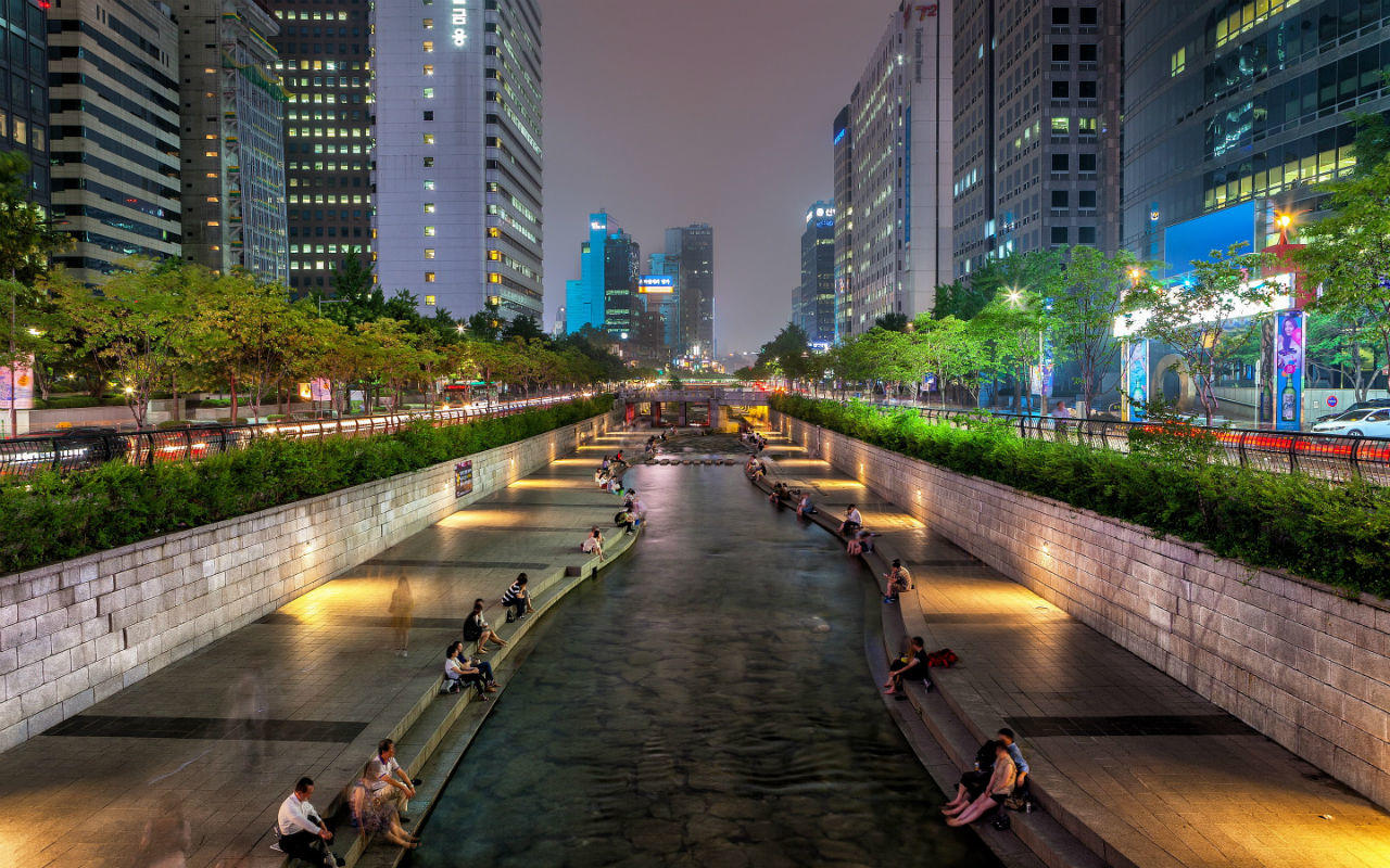 South Korea for treatment